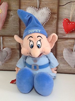 "Authentic Disney Store Exclusive 16"" Dopey Soft Plush Figure  🌟"