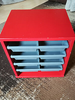 LEGO STORAGE WITH 4 DRAWERS - used in good condition