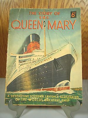 Cunard White Star 1936 Story Of The Rms Queen Mary 11335