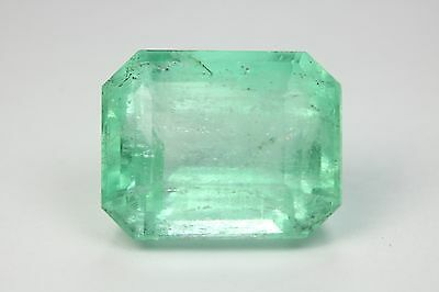 HUGE 24.33 Loose Natural Colombian Emerald!