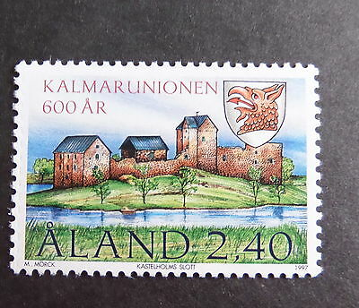 Aland 1997 600th Ann Kalmar Union sweden denmark SG125 MNH UM unmounted mint