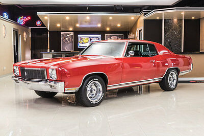 1971 Chevrolet Monte Carlo  Frame Off Restored! GM ZZ4 350ci V8 Crate Engine, TH350 Automatic, PS, PB, A/C