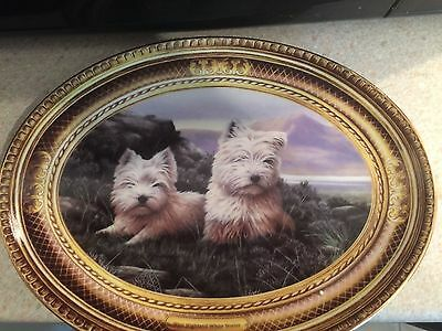 """Franklin Mint Limited Edition Plate """"In the Heather"""""""