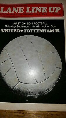 Sheffield united football programme