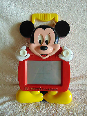 Mickey Mouse Etch a Sketch - Ohio Art 1991, works!