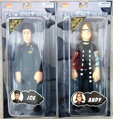 Fall Out Boy Action Figures Andy & Joe