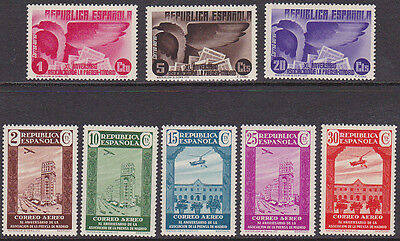 Spain - Mint NH Airmail Set #C73 to C80  (Z_20m)