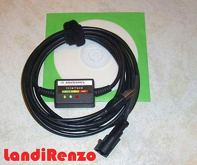 Landi Renzo Omegas etc./Vogels LPG GPL CNG Diagnose Kabel USB INTERFACE+Software