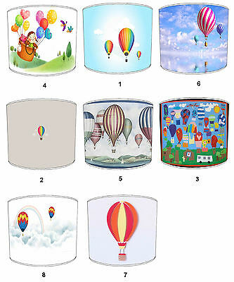 Hot Air Balloons Lampshades Ideal To Match Hot Air Balloons Cushions & Covers.