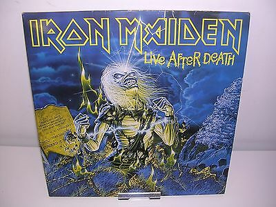 Iron Maiden - Live After Death Rare Original Uk 2Lp Excellent Condition