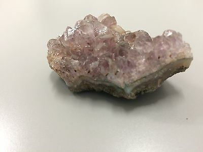 Purple Amethyst Rock Crystal