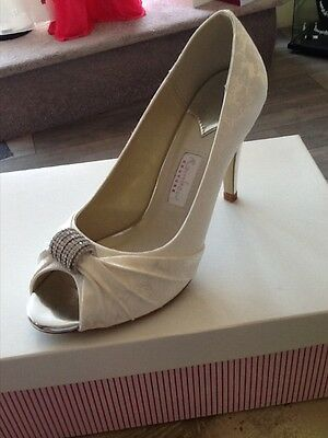 Ladies size 4 Rainbow Club Wedding Shoes
