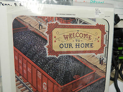 Vintage 1943 Pennsylvania Railroad Welcome to Our Home Ad