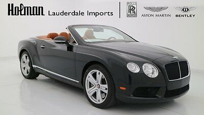 2014 Bentley Continental GT GTC V8 Convertible 2-Door 2014 14 BENTLEY GTC V8 CONVERTIBLE * CERTIFIED WARRANTY * ONLY 5K MILES * CLEAN