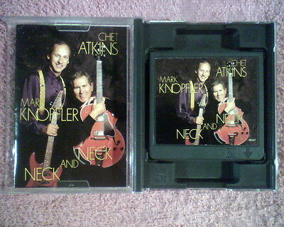 Mini Disc--Chet Atkins & Mark Knopfler--Neck and Neck  Mini Disc 1990