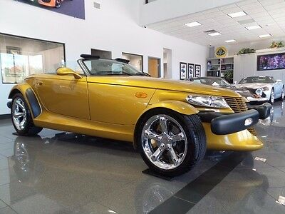 2002 Chrysler Prowler Base Convertible 2-Door TRADE-INS ACCEPTED * WORLDWIDE SHIPPING