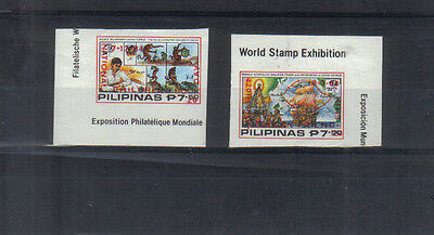 Philippines 1984 Children's Book Day & Mexican Friendship overprints mint