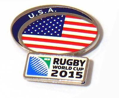 USA Rugby World Cup 2015 Pin Badge