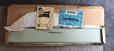 Brother PROFILE 551 Hand Knitting Machine NIOB Never Used Mint Condition w/ Box