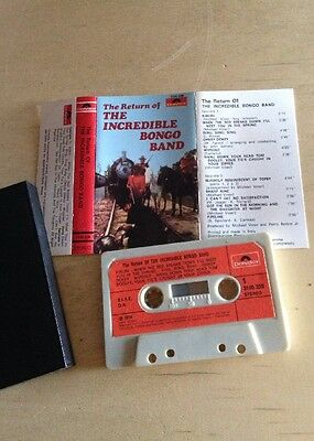 The Incredible Bongo Band - The Return Of MC Cassette Tape 3100228