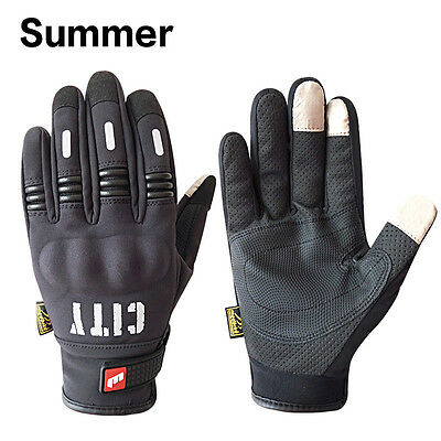 Motorcycle Glove Full Finger Motorbike Screen Touch Cycling Racing Protect Glove