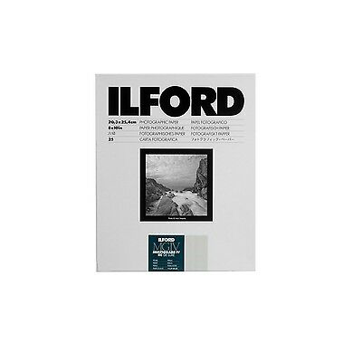 Ilford Multigrade IV RC Deluxe Resin Coated VC Paper 8x10-Inches 25-Pack (Pea...