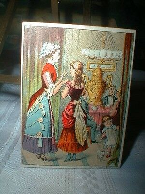 Dilworth's Coffee Victorian Trade Card