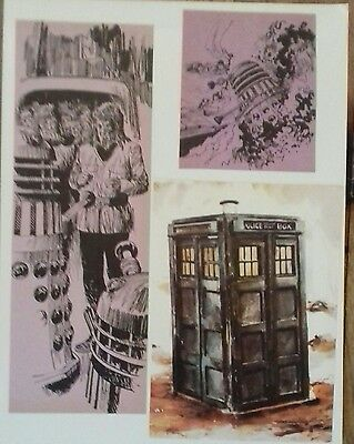 85 Doctor Who/Dalek cuttings. (Tom Baker). Decoupage, Collage.