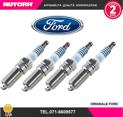 1680032-G 4 Candele accensione Ford (FORD)
