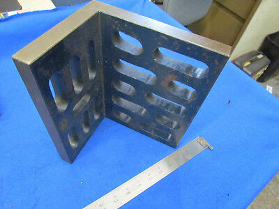 """10"""" x 6"""" x 8""""  Slotted Angle Plate              F-288"""