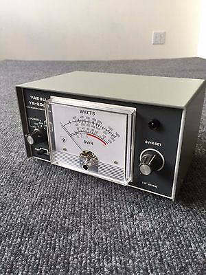Yaesu YS 2000 Peak Reading Wattmeter 1.8 - 60MHz Amateur Ham Radio Communication