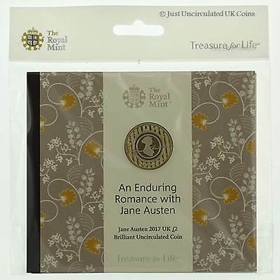 Royal Mint 2017 Jane Austen £2 Brilliant Uncirculated Coin Pack - UK