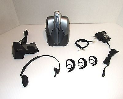 Plantronics CS55 Wireless Office Headset system + HL10 Lifter (A2)
