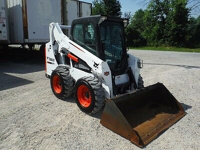 2014 Bobcat S590 2-Speed Compact Skid Steer Loader W/ Doosan 66 Hp Engine!