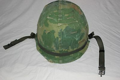 US Military Issue Vietnam Era M1 Helmet with Linner Complete