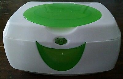 Munchkin Warm Glow Wipe Warmer, green, gently used