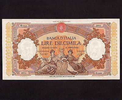 Italy, 10,000 Lire 1961, P-89c * Large Note *