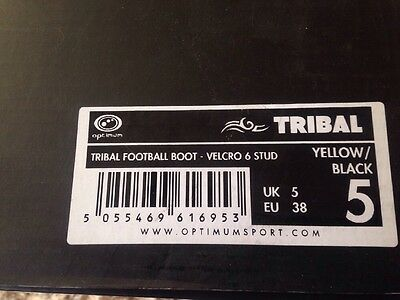 Optimum Tribal football/Rugby Boots Size 5