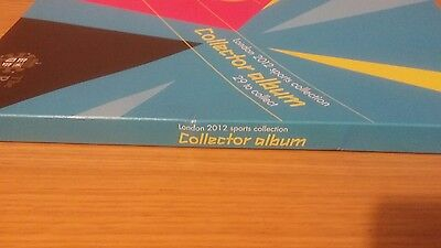 New Official Olympic 50p coin Collector Album - London 2012 - Royal Mint
