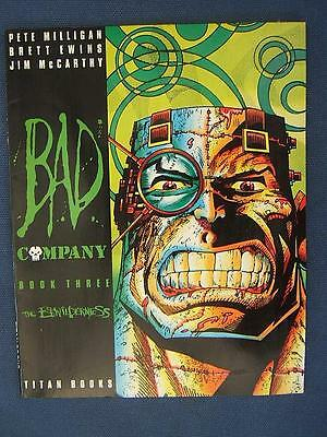 Bad Company THE BEWILDERNESS book 3 Titan 2000AD 1988 very good.