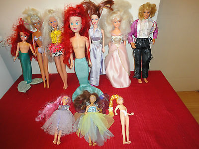 Job Lot Of Mixed Dolls