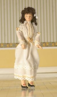Doll House 1/12Th Scale Flexible Lady Doll (4210)