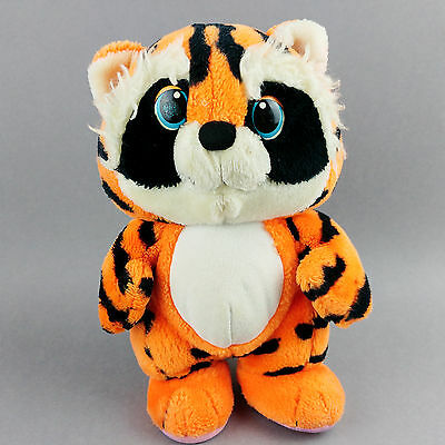 Disney 1986 Wuzzles Tycoon Soft Toy Plush Collectable Retro Vintage Tiger Bear