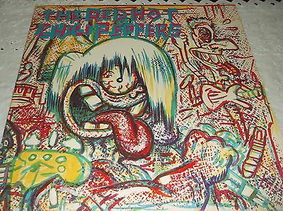 The Red Hot Chili Peppers - The Red Hot Chili Peppers LP USA 1984  EMI America