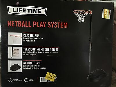 Lifetime Netball Post  Play System Model 1111 Brand New Sealed In Box