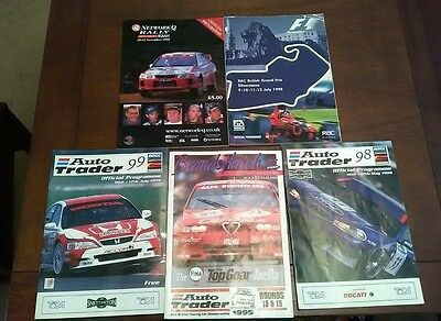 Touring Car, Rally and F1 Programmes