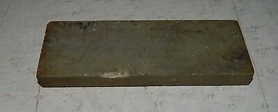 """Small 4 1/16"""" X 1 1/2"""" Yellow Sharpening Stone, Belgian Coticule?"""