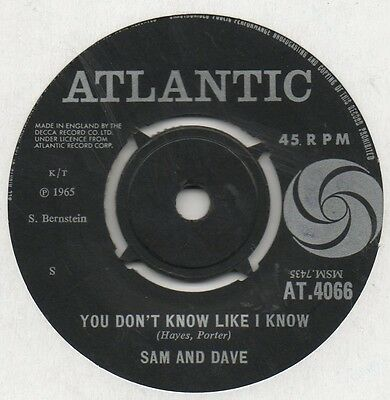 Sam And Dave-You Don't Know Like I Know-Black Atlantic.