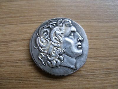 Ancient Roman Alexander The Great Coin Reproduction.