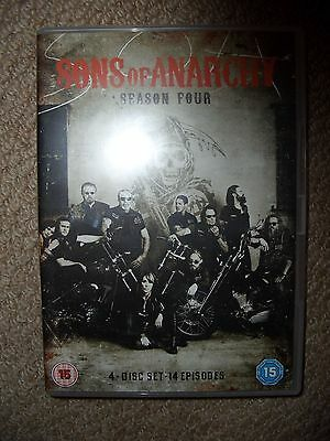 Sons of Anarchy Complete Season 4 DVD